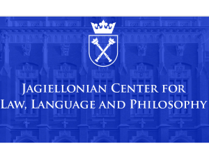 Law, Language, and Social Ontology Workshop